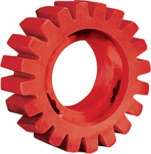 92255 - Dynabrade Red-Tred Eraser Wheel