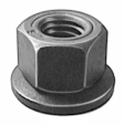 Auveco - 15335 - M8-1.25 Washer Nut 24MM O