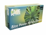Atlantic Safety Products - APN-XL - Green Aloe Infused Nitrile PF 5.5 mil Glove - X-Large - Box/100