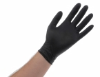 Atlantic Safety Products - BL-S - Black Nitrile PF 5.5pH Disposable Glove - Small - Box/100