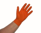 Atlantic Safety Products - OR-XXL - Orange Nitrile PF 5.5pH Disposable Glove - XX-Large - Box/100