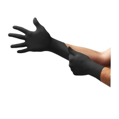 Ansell - MK-296-XL - Microflex MidKnight Black Nitrile Exam Glove - X-Large