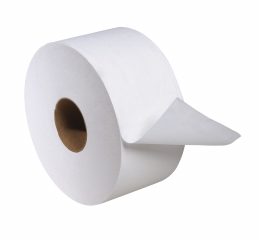 12024402 - Tork Advanced Bath Tissue Mini Jumbo Roll, 2-Ply, White - 12 Roll Case