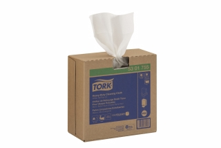 5301755 - Tork Heavy-Duty Cleaning Cloth, Pop-Up Box