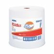 05841 - Kimberly-Clark - Wypall Jumbo Rags On A Roll L30 White 1950 - 1/Case